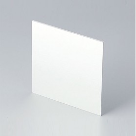 B6123111 / Panel frontal - Aluminio - matt anodised - 67,5x67,5x1,5mm