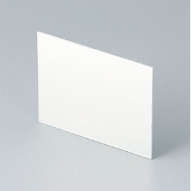 B6123112 / Panel trasero - Aluminio - matt anodised - 63,7x49,1x1mm