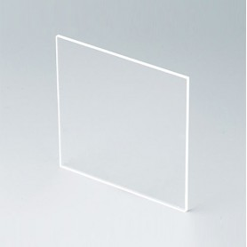 B6123331 / Panel frontal - Vidrio acrílico - transparent - 67,5x67,5x2mm
