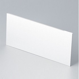 B6132111 / Panel frontal - Aluminio - matt anodised - 91,5x43,4x1,5mm