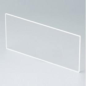 B6132331 / Panel frontal - Vidrio acrílico - transparent - 91,5x43,4x2mm