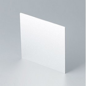 B6134111 / Panel frontal - Aluminio - matt anodised - 90,6x90,6x1,5mm