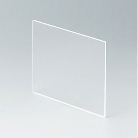 B6134331 / Panel frontal - Vidrio acrílico - transparent - 90,6x90,6x2,2mm