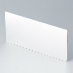 B6143111 / Panel frontal - Aluminio - matt anodised - 139,2x67,3x1,5mm