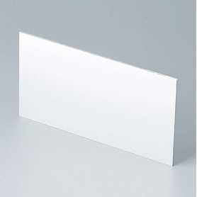 B6143112 / Panel trasero - Aluminio - matt anodised - 118,9x62,6x1,5mm