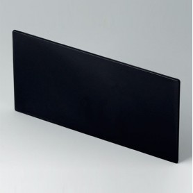 B6143221 / Panel frontal - PPO (UL 94 V-0) - black RAL 9005 - 139,3x67,5x2mm