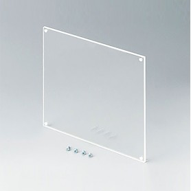 B6145331 / Panel frontal - Vidrio acrílico - transparent - 138x138x3mm