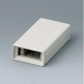 A9404333 / CAJA DE ARMAZÓN VERSIÓN V 85: Vers. I - ABS (UL 94 HB) - off-white RAL 9002 - 45x85x22mm