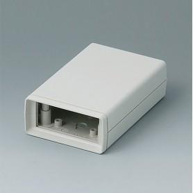 A9406333 / CAJA DE ARMAZÓN VERSIÓN V 110: Vers. I - ABS (UL 94 HB) - off-white RAL 9002 - 72x114x33mm