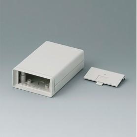 A9406334 / CAJA DE ARMAZÓN VERSIÓN V 110: Vers. II - ABS (UL 94 HB) - off-white RAL 9002 - 72x114x33mm