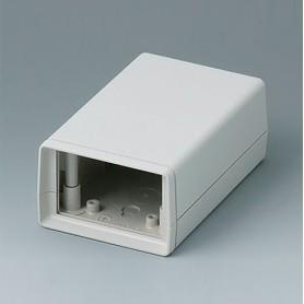 A9406343 / CAJA DE ARMAZÓN VERSIÓN V 110: Vers. I - ABS (UL 94 HB) - off-white RAL 9002 - 72x114x45mm