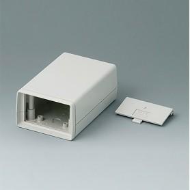 A9406344 / CAJA DE ARMAZÓN VERSIÓN V 110: Vers. II - ABS (UL 94 HB) - off-white RAL 9002 - 72x114x45mm