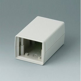A9406443 / CAJA DE ARMAZÓN VERSIÓN V 110: Vers. I - ABS (UL 94 HB) - off-white RAL 9002 - 72x114x57mm