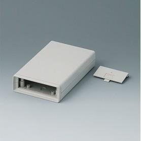 A9408336 / CAJA DE ARMAZÓN VERSIÓN V 155: Vers. IV - ABS (UL 94 HB) - off-white RAL 9002 - 95x158x33mm