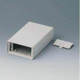 A9408346 / CAJA DE ARMAZÓN VERSIÓN V 155: Vers. IV - ABS (UL 94 HB) - off-white RAL 9002 - 95x158x45mm