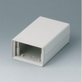 A9408440 / CAJA DE ARMAZÓN VERSIÓN O 155: Vers. I - ABS (UL 94 HB) - off-white RAL 9002 - 95x155x57mm