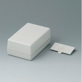 A9406342 / CAJA DE ARMAZÓN VERSIÓN G 110: Vers. II - ABS (UL 94 HB) - off-white RAL 9002 - 72x114x45mm