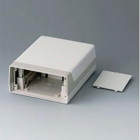 A9912687 / CAJA LUX 150: Vers. II - ABS (UL 94 HB) - off-white RAL 9002 - 118x150x57mm