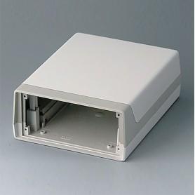 A9915737 / CAJA LUX 190: Vers. I - ABS (UL 94 HB) - off-white RAL 9002 - 148x190x67mm