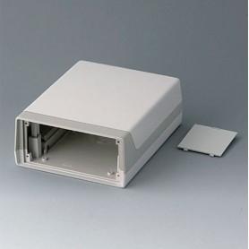 A9915787 / CAJA LUX 190: Vers. II - ABS (UL 94 HB) - off-white RAL 9002 - 148x190x67mm