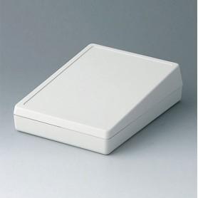 A0514007 / CAJA DE SOBREMESA 138 (PANEL DE CONTROL CERRADO) - ABS (UL 94 HB) - off-white RAL 9002 - 138x190x54mm