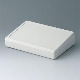 A0519007 / CAJA DE SOBREMESA 190 (PANEL DE CONTROL CERRADO) - ABS (UL 94 HB) - off-white RAL 9002 - 190x138x47mm