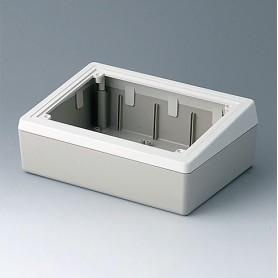 A9086365 / CAJA DE SOBREMESA 190 H (PARA MONTAR PANEL DE ALUMINIO) - ABS (UL 94 HB) - off-white RAL 9002 - 190x138x70mm