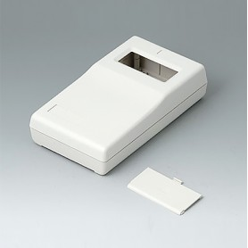 A9060007 / CAJA PARA APARATO DE MEDICIÓN P: Vers. I - ABS (UL 94 HB) - off-white RAL 9002 - 145x80x36,5mm
