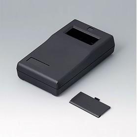 A9060009 / CAJA PARA APARATO DE MEDICIÓN P: Vers. I - ABS (UL 94 HB) - black RAL 9005 - 145x80x36,5mm