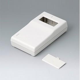 A9060017 / CAJA PARA APARATO DE MEDICIÓN P: Vers. II - ABS (UL 94 HB) - off-white RAL 9002 - 145x80x36,5mm