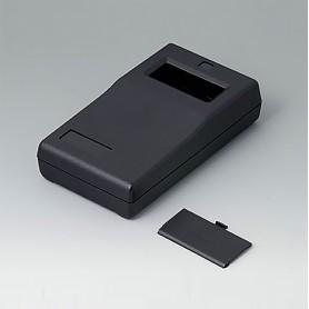 A9060019 / CAJA PARA APARATO DE MEDICIÓN P: Vers. II - ABS (UL 94 HB) - black RAL 9005 - 145x80x36,5mm