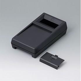 A9062019 / CAJA PARA APARATO DE MEDICIÓN M: Vers. I - ABS (UL 94 HB) - black RAL 9005 - 145x80x38,5mm