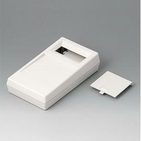 A9061017 / CAJA PARA APARATO DE MEDICIÓN N: Vers. I - ABS (UL 94 HB) - off-white RAL 9002 - 180x100x44mm