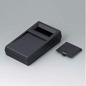 A9061019 / CAJA PARA APARATO DE MEDICIÓN N: Vers. I - ABS (UL 94 HB) - black RAL 9005 - 180x100x44mm