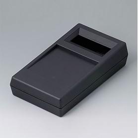 A9061119 / CAJA PARA APARATO DE MEDICIÓN N: Vers. II - ABS (UL 94 HB) - black RAL 9005 - 180x100x44mm