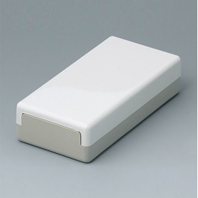 A9010065 / CAJA PLANA 100 N, Vers. I - ABS (UL 94 HB) - off-white RAL 9002 - 100x50x25mm - IP 40