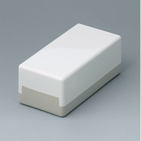 A9011065 / CAJA PLANA 100 H, Vers. I - ABS (UL 94 HB) - off-white RAL 9002 - 100x50x40mm - IP 40