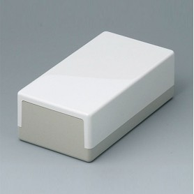 A9020065 / CAJA PLANA 120 N, Vers. I - ABS (UL 94 HB) - off-white RAL 9002 - 120x65x40mm - IP 40
