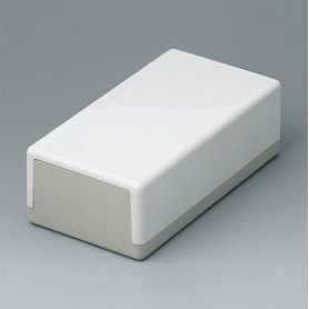 A9030065 / CAJA PLANA 150 N, Vers. I - ABS (UL 94 HB) - off-white RAL 9002 - 150x80x50mm - IP 40