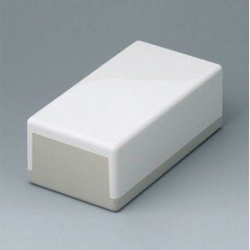 A9032065 / CAJA PLANA 150 N, Vers. I - ABS (UL 94 HB) - off-white RAL 9002 - 150x80x55mm - IP 40
