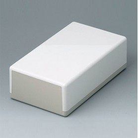 A9040065 / CAJA PLANA 189 N, Vers. I - ABS (UL 94 HB) - off-white RAL 9002 - 189x110x60mm - IP 40