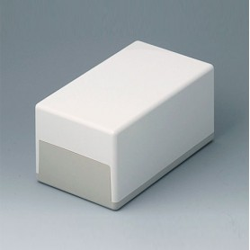 A9041065 / CAJA PLANA 189 H, Vers. I - ABS (UL 94 HB) - off-white RAL 9002 - 189x110x97mm - IP 40