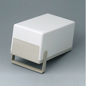 A9041165 / CAJA PLANA 189 H, Vers. II - ABS (UL 94 HB) - off-white RAL 9002 - 189x110x97mm - IP 40