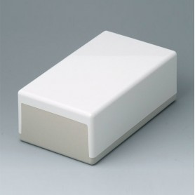 A9043065 / CAJA PLANA 189 N, Vers. I - ABS (UL 94 HB) - off-white RAL 9002 - 189x110x70mm - IP 40