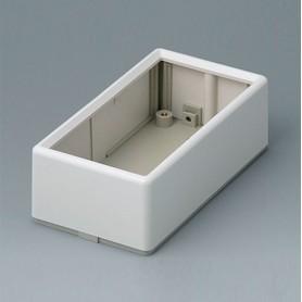 A9520165 / CAJA PLANA 120 A - ABS (UL 94 HB) - off-white RAL 9002 - 120x65x40mm - IP 40