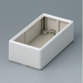 A9520165 / FLAT-PACK CASE 120 A - ABS (UL 94 HB) - off-white RAL 9002 - 120x65x40mm - IP 40
