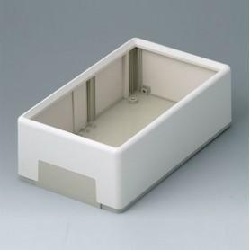 A9540165 / FLAT-PACK CASE 210 A - ABS (UL 94 HB) - off-white RAL 9002 - 210x125x70mm - IP 40