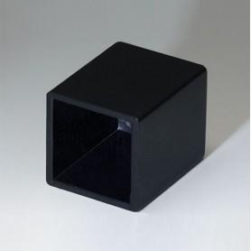 A8012159 / CAJA VACÍA, Vers. III - ABS (UL 94 HB) - black RAL 9005 - 12,3x12,3x15,3mm