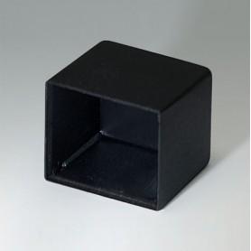 A8017108 / CAJA VACÍA, Vers. III - PA 66 (UL 94 V-2) - black RAL 9005 - 17,4x15x10,5mm