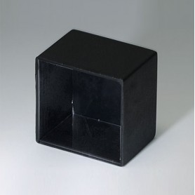 A8018138 / CAJA VACÍA, Vers. III - PA 66 (UL 94 V-2) - black RAL 9005 - 18,6x18,6x13,7mm